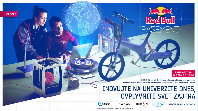 Red Bull Basement hľadá mladých inovátorov