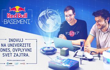 Red Bull Basement: Inovuj dnes, ovplyvni svet zajtra
